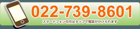 電話番号022-739-8601